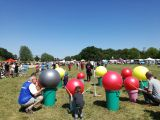 Familienfest am Weserstrand